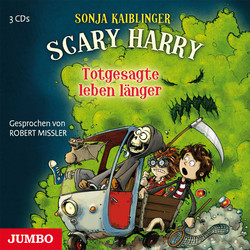 Cover Hörbuch: Sonja Kaiblinger: Scary Harry. Totgesagte leben länger