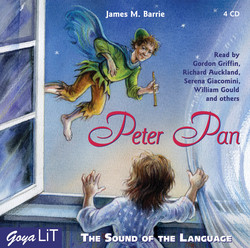 Cover H�rbuch: James Matthew Barrie: Peter Pan