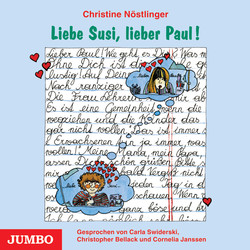 Cover Hörbuch: Christine Nöstlinger: Liebe Susi, lieber Paul!