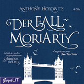 Cover H�rbuch: Anthony Horowitz: Der Fall Moriarty