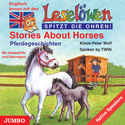 Cover Hörbuch: Klaus-Peter Wolf: Stories About Horses - Leselöwen - spitzt die Ohren!